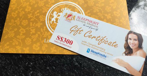 $300 voucher on a #Sleepnight mattress